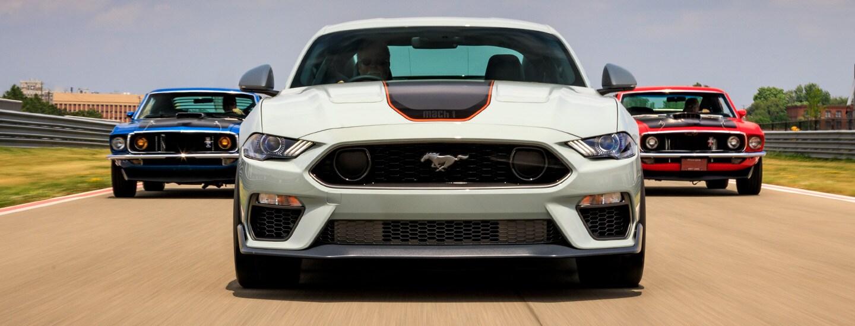 Mustang-mach-1-history