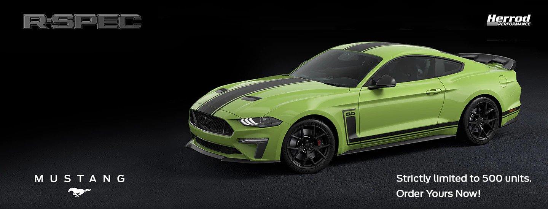 Mustang R-Spec Banner